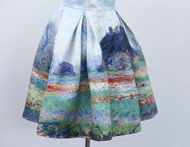 R$ 548,90, Inspirado em Monet (Foto: PurpleFishBowl/Etsy)