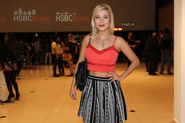 Luiza Possi assiste a show em São Paulo (Foto: Manuela Scarpa/Photo Rio News)