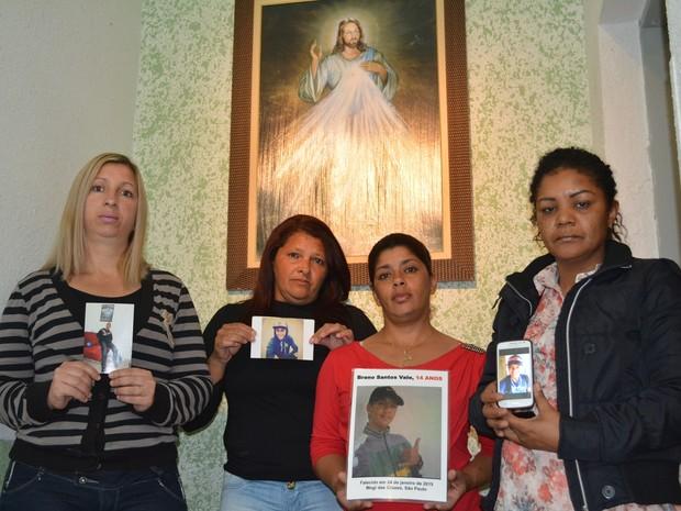 Mães dos meninos mortos em ataques a tiros em Mogi das Cruzes unem forças para superar as perdas (Foto: Jamile Santana/G1)