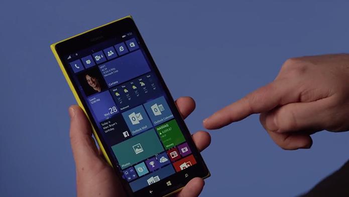 Windows 10 Mobile teve versão prévia lançada para primeiros aparelhos em fevereiro (Foto: Reprodução/Microsoft) (Foto: Windows 10 Mobile teve versão prévia lançada para primeiros aparelhos em fevereiro (Foto: Reprodução/Microsoft))