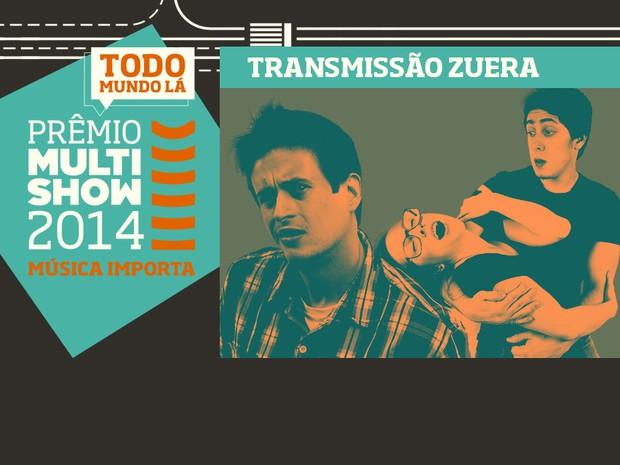 prmio multishow de msica 2014 transmisso zuera (Foto: Divulgao)