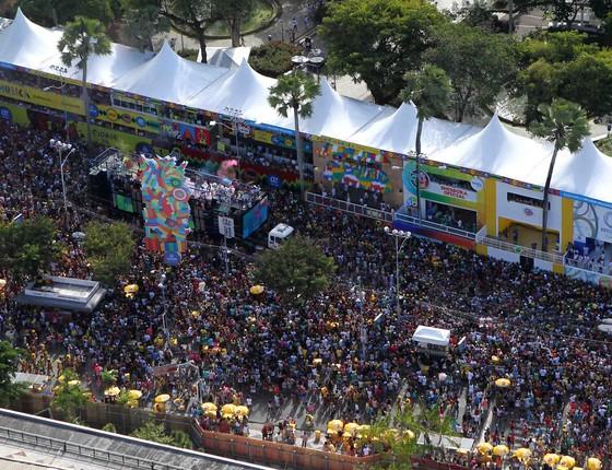 Carnaval de 2017 em Salvador, na Bahia (Foto: Manu Dias/GOVBA)