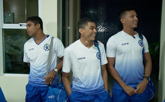 Jogadores do Parnahyba  (Foto: TV Clube )