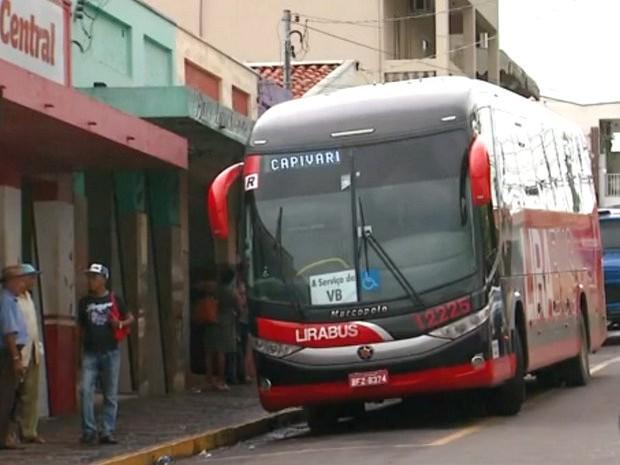 Antiga rodoviária de Capivari (Foto: Reprodução/ EPTV)
