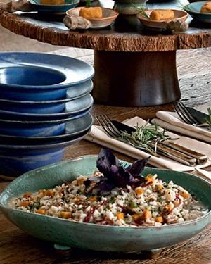 Risoto de carne-seca e abóbora (Foto: Casa e Comida)