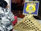 Mulher é presa ao transportar 42 kg de droga em bagageiro de ônibus