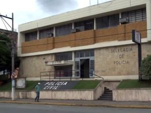 Delegacia de Registro, SP (Foto: Reprodução/TV Tribuna)
