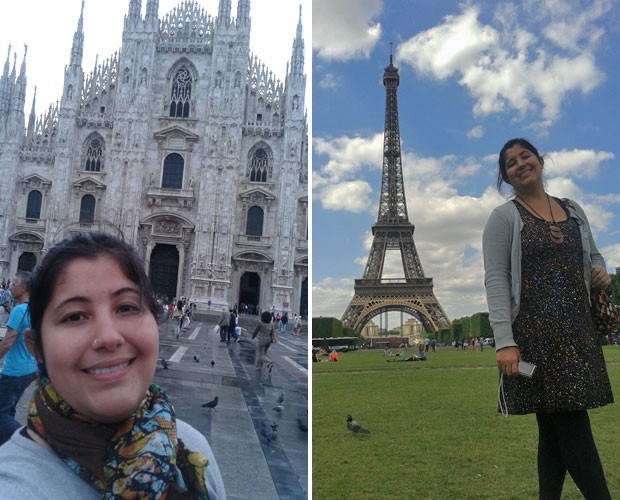 A cantora visitou a França recentemente (Foto: Arquivo pessoal)
