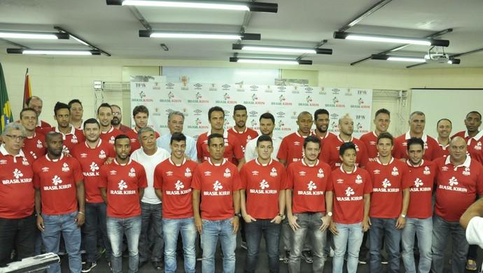 Elenco do Sorocaba Futsal para a temporada 2015 (Foto: Danilo Camargo/ Sorocaba Futsal)