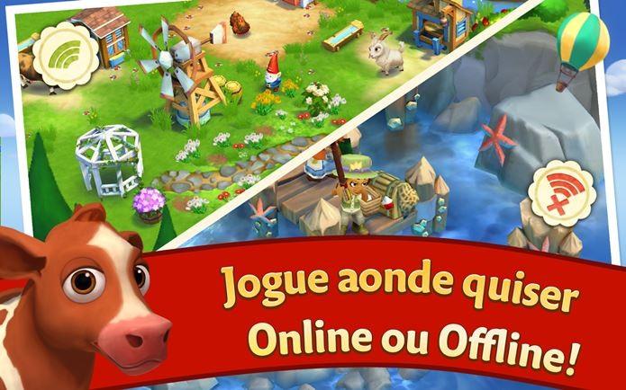 Novo Farmville se destaca pela jogabilidade offline (Foto: Divulgação)