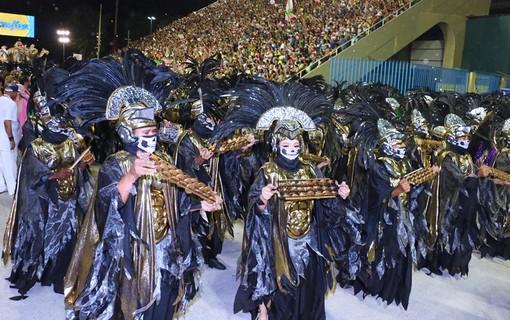 Desfile da Mangueira do Grupo Especial do Rio