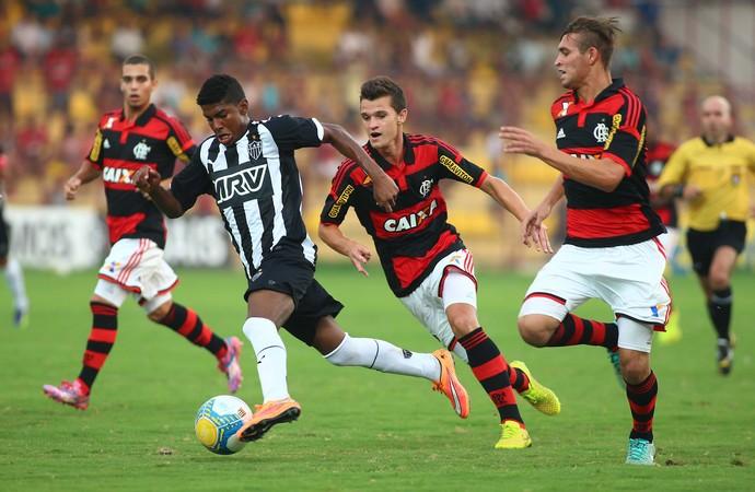 Flamengo x Atlético-MG, Copa São Paulo de Juniores (Foto: Marcos Bezerra / Ag. Estado)