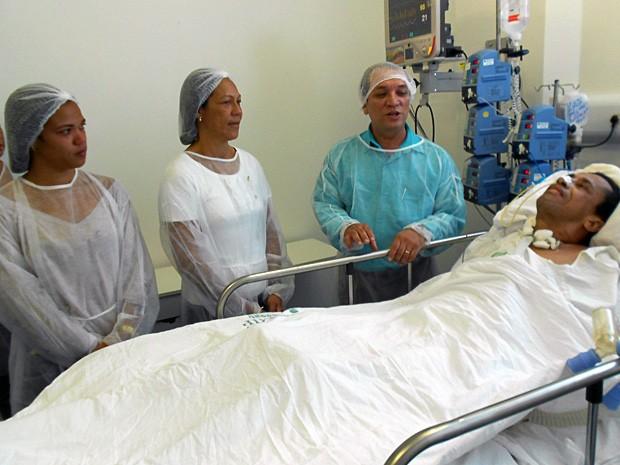 Casamento (Foto: Divulgação/Hospital Regional de Juazeiro)