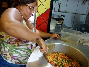Hot dog do Valdino, em Brotas (Foto: Egi Santana/G1)