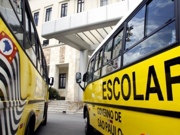 Transporte escolar em São Paulo (Foto: Divulgação)