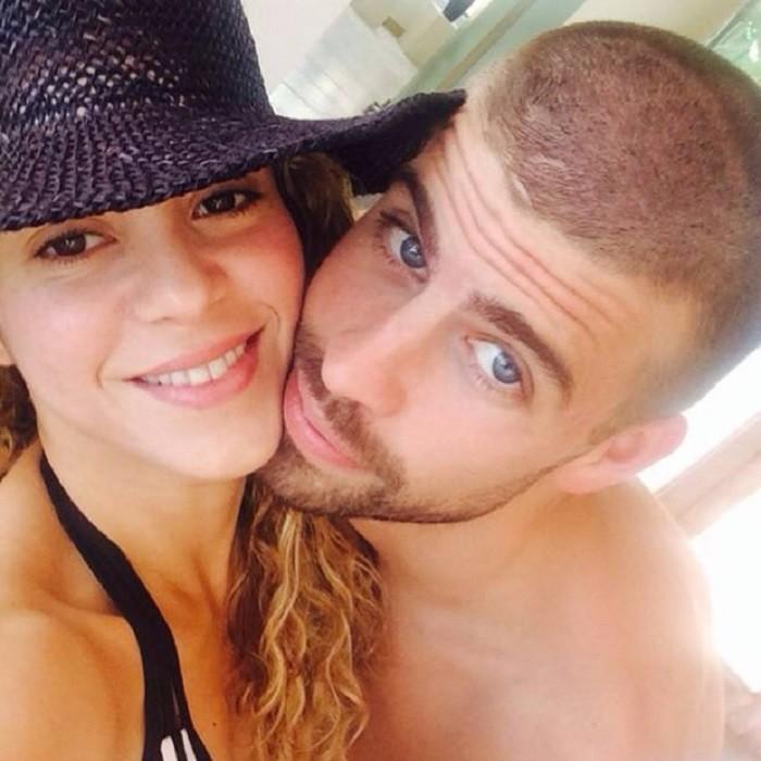 Shakira e Pique (Foto: Reprodução/ Instagram)