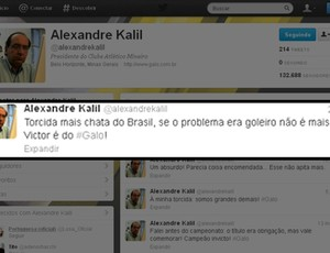 alexandre kalil twitter atl&#233;tico-mg (Foto: Reprodu&#231;&#227;o/Twitter)