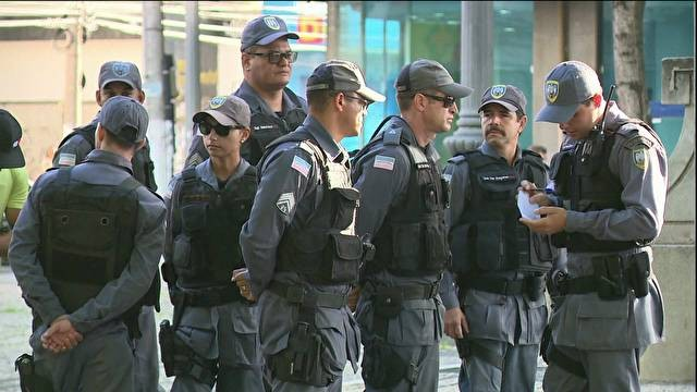 PMs do ES (Foto: reprodução GloboNews)