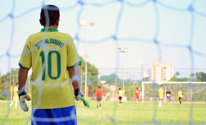 Moreira escolinha São José dos Campos (Foto: Danilo Sardinha/GloboEsporte.com)
