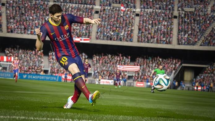 Confira 10 novidades que elevarão o nível do futebol em Fifa 15  (Foto: VG247)