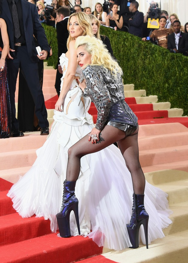 Kate Hudson e Lady Gaga (Foto: Getty Images)