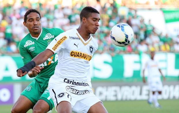 Murilo e Rafael Lima, Chapecoense x botafogo (Foto: Alan Pedro / Getty Images)