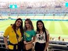 Rio 2016: famosos torcem pela seleção brasileira de futebol masculino