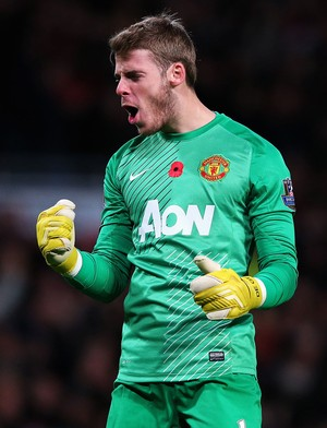 Manchester United x Arsenal David De Gea (Foto: Getty Images)
