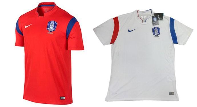 camisa Coreia do Sul Copa do Mundo Blog