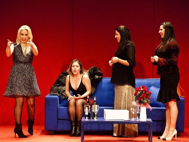 Elenco de 'A Hora Perigosa': espetáculo nasceu de uma proposta das atrizes (Foto: Divulgação)