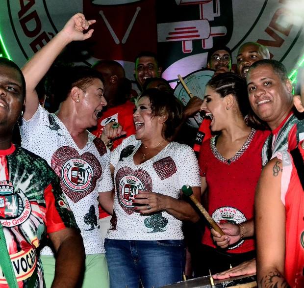 David Brazil, Susana Vieira e Paloma Bernardi (Foto: William Oda / AgNews)