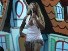 Após procedimentos estéticos, MC Ludmilla faz primeiro show de turnê