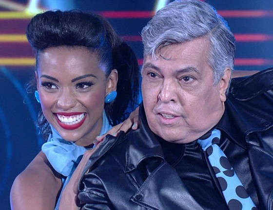 Recentemente Sidney Magal participou do quadro Dança do famosos, do programa do Faustão (Foto: Divulgação/ Rede Globo)