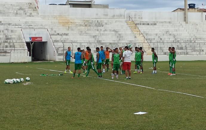 Salgueiro, treino (Foto: Ednardo Blast/ TV Grande Rio)