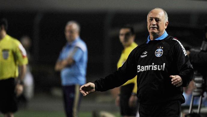 Felipão, Scolari Grêmio x Palmeiras (Foto: Marcos Ribolli)