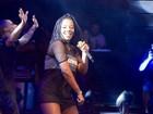 Ludmilla estreia novo visual nos palcos em show na Bahia