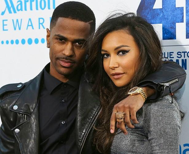 """A estrela de 'Glee' Naya Rivera e o rapper Big Sean terminaram o relacionamento este ano. Mas parece que nenhum dos dois podia se queixar de uma vida sexual monótona. A própria Naya disse a uma revista feminina, na época em que ainda namorava o músico: """"A gente transa em público. A gente transa em qualquer lugar!"""". (Foto: Getty Images)"""