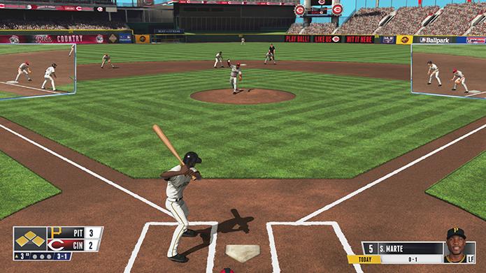 R.B.I Baseball é uma representação simplória do esporte (Foto: Reprodução)