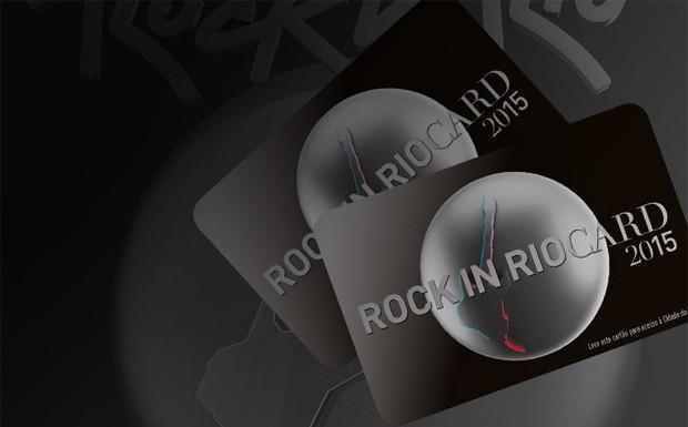 Ingresso para o Rock in Rio 2015, o chamado Rock in Rio Card (Foto: Divulgação)