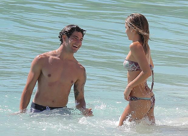 Sophia Mattar e Alexandre Pato (Foto: Grosby Group)
