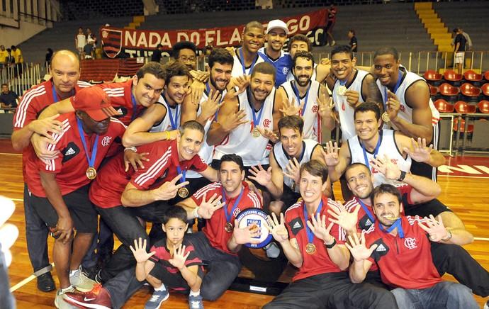 Final carioca Basquete Flamengo e MAcaé (Foto: Andre Durão)