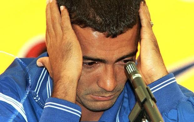 Romário cortado Copa 1998 Seleção (Foto: Cezar Loureiro / Agência O Globo)