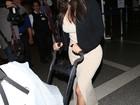 Kim Kardashian leva a filha para a China