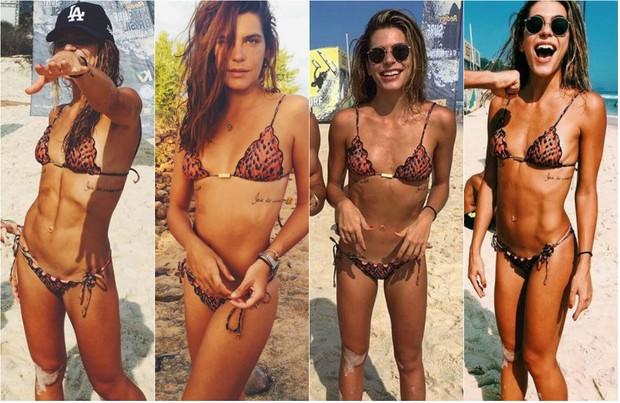 Mariana Goldfarb chega a 7,5% de gordura corporal e dá dicas fitness (Foto: Reprodução do Instagram)