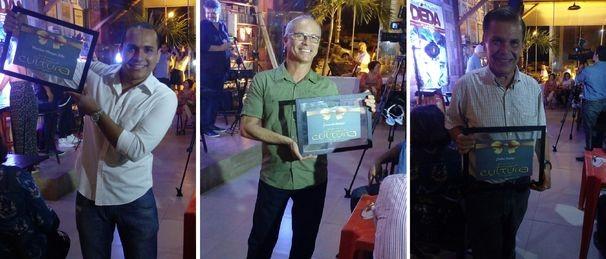 Jornalistas da TV Sergipe foram homenageados (Foto: Divulgação / TV Sergipe)