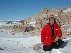 Henry Sun explica que o porblema dos desertos polares não é falta de água (Foto: Dilvulgação)