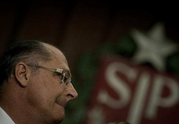 O governador de São Paulo, Geraldo Alckmin (Foto: Adriano Machado/Reuters)