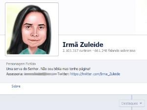 'Irmã Zuleide' é detida em Santos após constranger professora (Foto: Reprodução/Facebook)