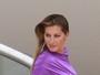 Gisele Bündchen posa com look chamativo em sessão de fotos
