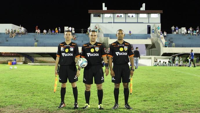 Arbitragem Tocantins  (Foto: Cyntia Miranda/GloboEsporte.com)